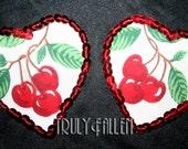 Cherry Heart Pasties