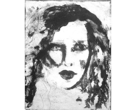 Helen Etching (Original Carborundum Collograph)