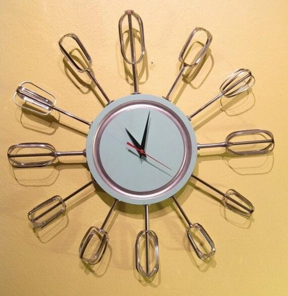 Atomic Eggbeater Clock