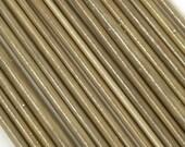 Silvered Ivory  Lampwork Stringers - 104coe