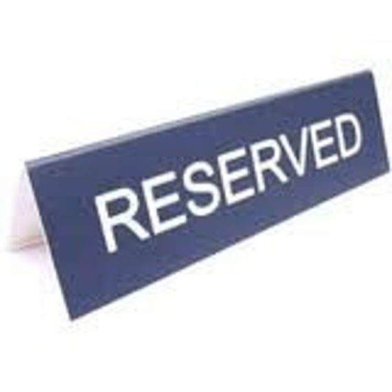RESERVED FOR SootyOarsman 2nds SALE
