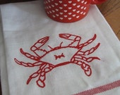 Maryland Blue Crab Dishtowels (Reserved for 2kitties)