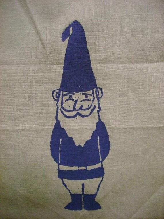 Gnome Dish Towel