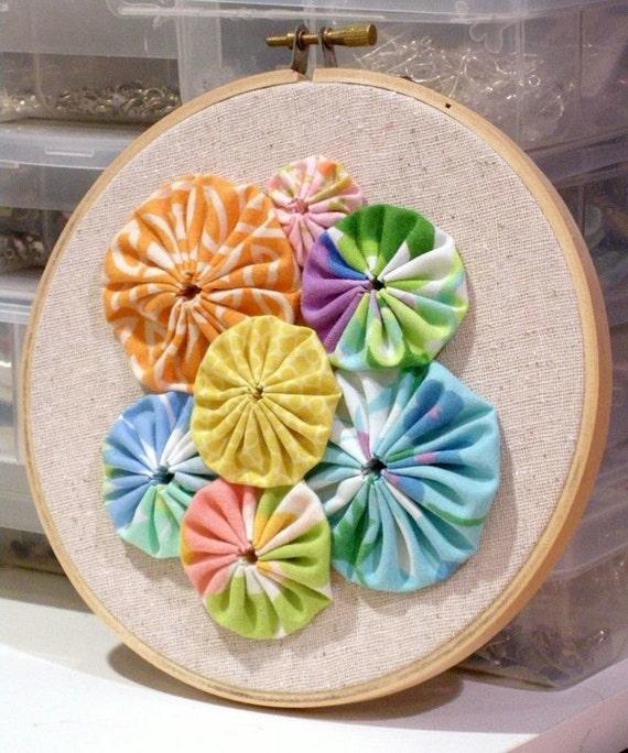 Fabric Wall Art - Hoop 001