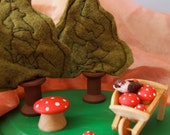 wee forest playset waldorf nature table