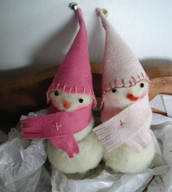 felted snowman limited edition 2008