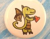 OOAK Dragonling Magnet--Xedith