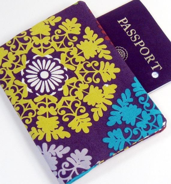 Passport Cover - Big Bright Medallion