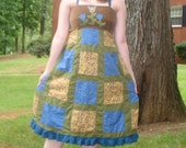 CLEARANCE Patchwork Dress