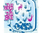 The Bird and The Bee - Screen Printed Gig Poster