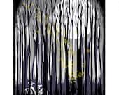 Emily Returns - Original Screenprinted Art Print