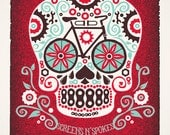 Screens N' Spokes 2011 - Original Screenprinted Art Print