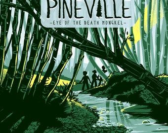 The Ghosts of Pineville 2 - Eye of the Death Mongrel - Comic