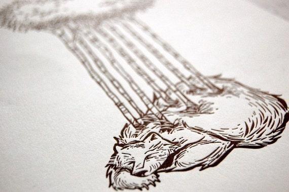 Reincarnate - Letterpress Art Print