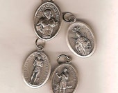 Heaven for Men, Tell Us Which Saint, 75 Patron Saint Medals from Which to Choose on Ball Chain