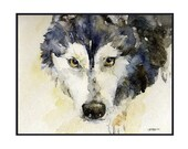 Watercolor Siberian Husky Notecards Note cards, Siberian Husky Prints, Dog Cards, Gift Box, Dog Lovers, Stocking Stuffers