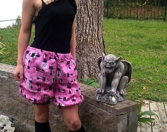 Black Cats Bloomers - Boxer Alternatives - RARE Robert Kaufman Fabric