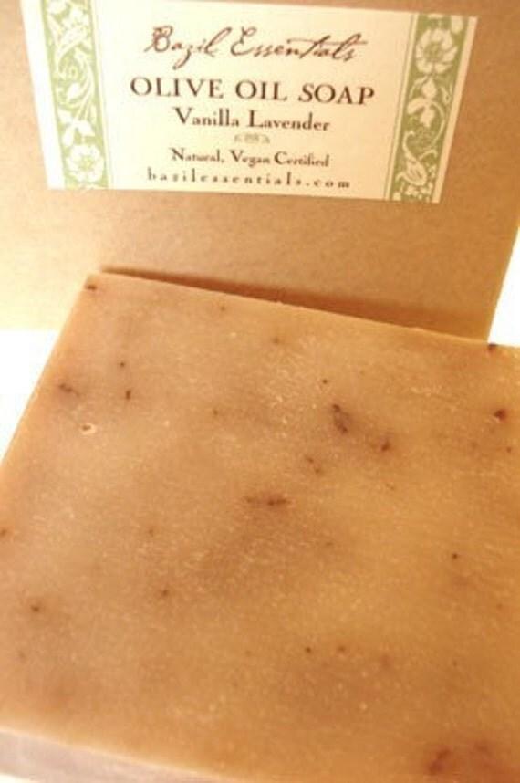 Vanilla Lavender Large Olive Oil Soap