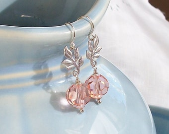 Swaying in the Breeze- Earrings in pink