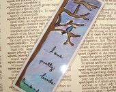 Love Pretty Birds Bookmark