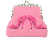 Coin Purse, Pink Shoes (W-TP-082) - WilliamsGiftshop