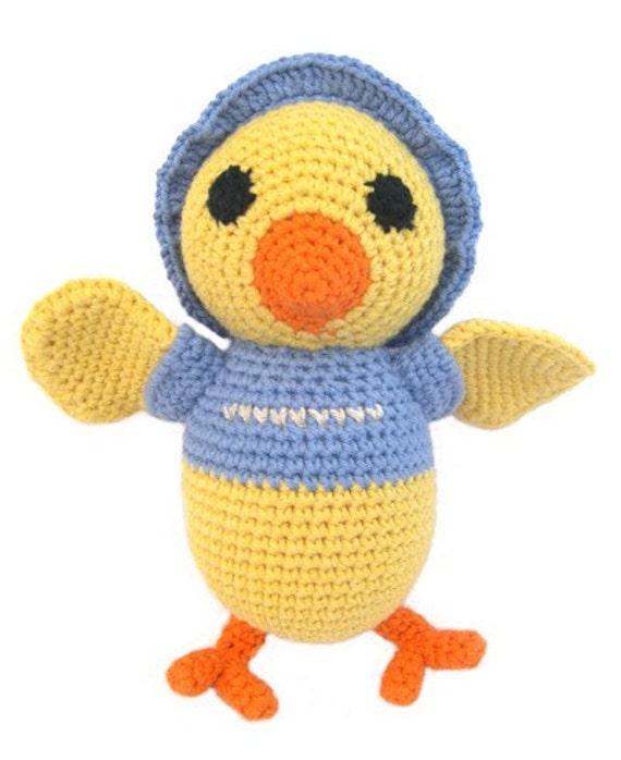 Chicky - amigurumi stuffed animal toy (W-GK-007)