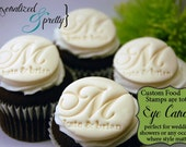 Personalized Food Safe Stamp for Fondant  PRIORITY shipping for USA only