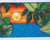 Postcard - Sunset on the Beach