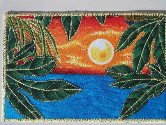 Postcard - Tropical Sunset