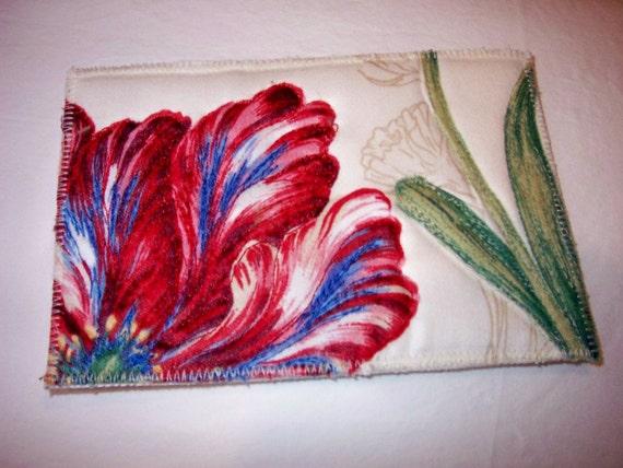 Parrot Tulip .. post card