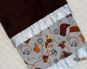 Ride 'em COWBOY - Rodeo baby blanket - super SOFT