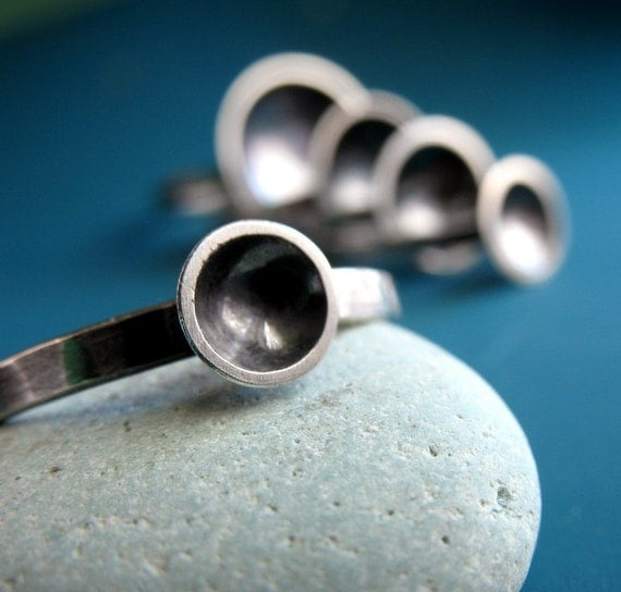 Small Saucer Ring