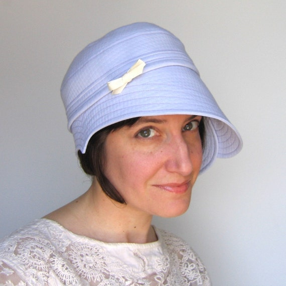 Hat - Sweetheart in lilac cotton
