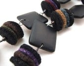 Slick Recycled Sweater Felt Necklace