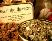 Samhain - Honor The Ancestors Loose Organic Herbal Incense Blend - Magick, Pagan, Witch