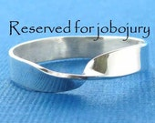 Reserved for jobojury--mobius ring