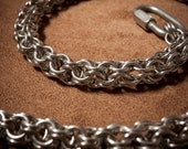 Chainmaille Wallet Chain: Inverted Roundmaille