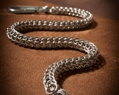 Chainmaille Wallet Chain: Persian Weave