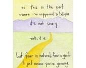 fear is good card