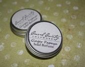 Ginger Papaya Solid Perfume