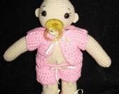 Baby Lulu Crocheted Doll
