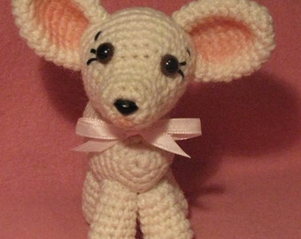 Crocheted Tiny Fawn