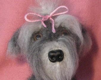 Crocheted Yorkshire Terrier