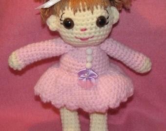 Crocheted Doll Megan