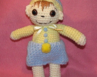 Crocheted Doll Michael