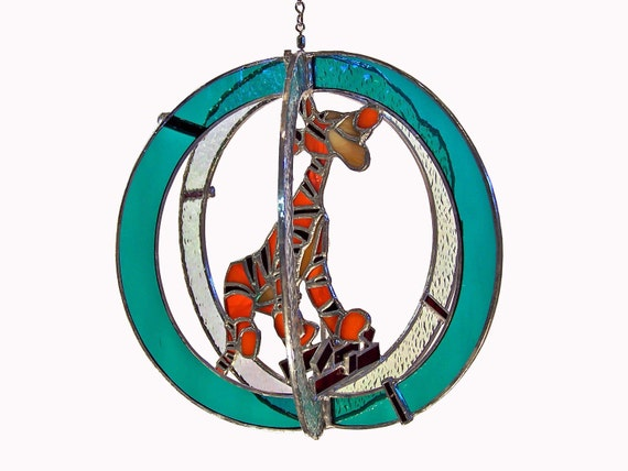 Tigger Stained Glass Suncatcher