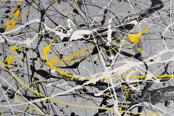 Abstract Paintings - Matching set