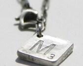 Scrabble Charm Necklace