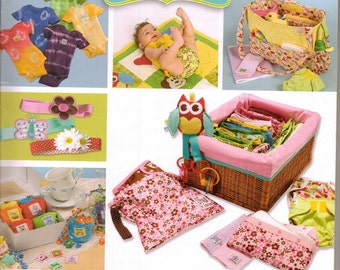 Baby Essentials Made Easy Pattern Book and Boutique Waterproof, Breathable PUL Fabric FREE SHIPPING