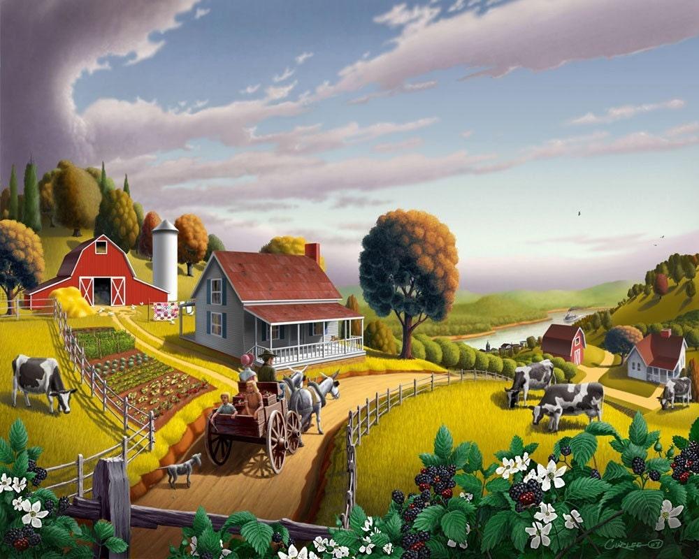 Lindos trabalhos rurais